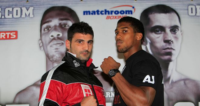 Anthony Joshua insists he faces a real test of his credentials when he makes his debut against Italian Emanuele Leo