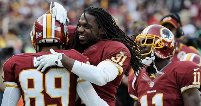 Brandon Meriweather: Washington safety will miss the week eight trip to Denver