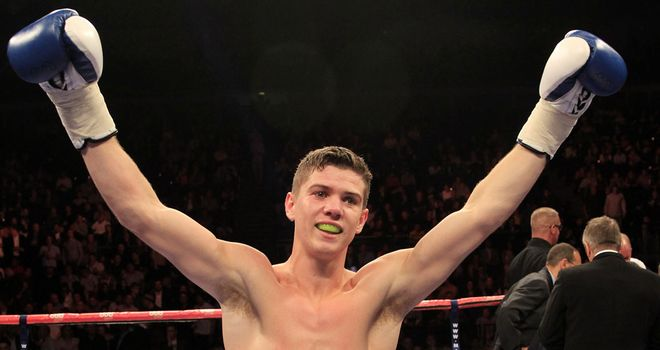Luke Campbell: Produced another impressive display (pic by Lawrence Lustig).