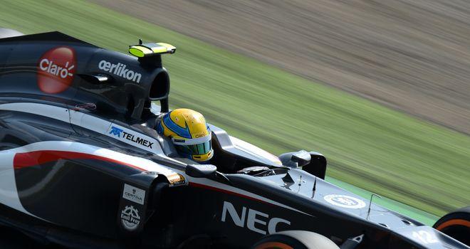 Esteban Gutierrez: Claimed first points finish in Japan