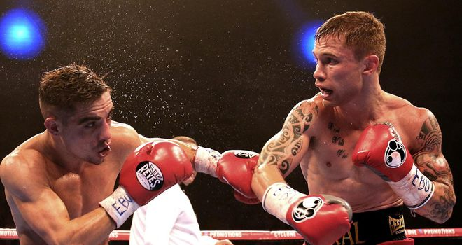 Carl Frampton: Relinquishes bantamweight titles