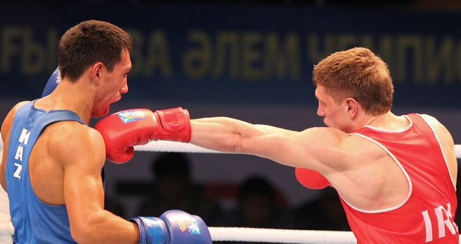 Jason Quigley (R): Was disappointed with silver despite becoming the first Irishman to reach a men's world final
