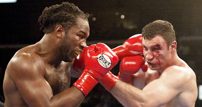 Lewis: Defeated Vitali Klitschko in 2003