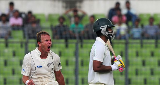 Neil Wagner: New Zealand seamer sends Tamim Iqbal on his way