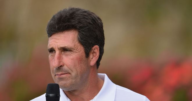 Jose Maria Olazabal: Motivated by Europe's poor record