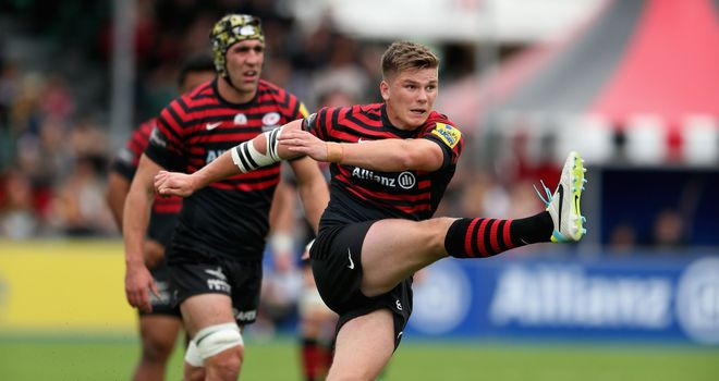 Owen Farrell: Returns to the Saracens starting XI at Connacht