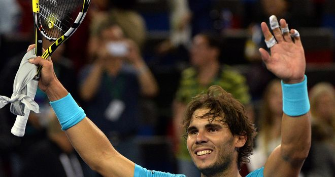 Rafael Nadal: Will go into the ATP World Tour Finals as the top finisher in the points race