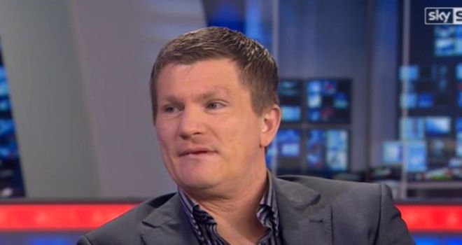 Ricky Hatton: Is predicting that Froch v Groves will be a close contest