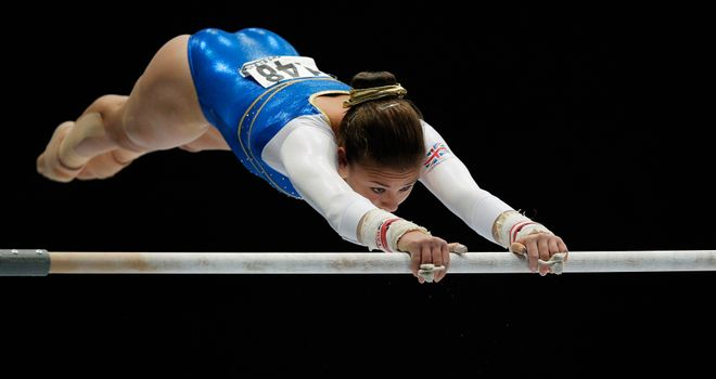Ruby Harrold: Qualified for the all-around and uneven bars final