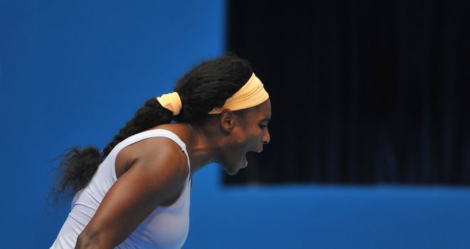 Serena Williams: Was forced to dig deep against Maria Kirilenko