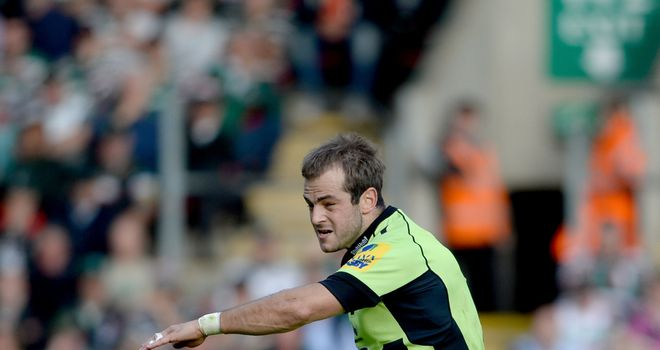 Stephen Myler: Most accurate kicker in Aviva Premiership