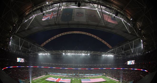 Wembley is to host three NFL games this year
