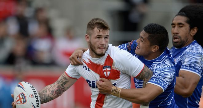 Zak Hardaker: Leaves England squad for personal reasons