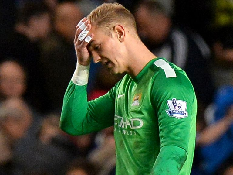 Joe Hart: Dropped by Manchester City