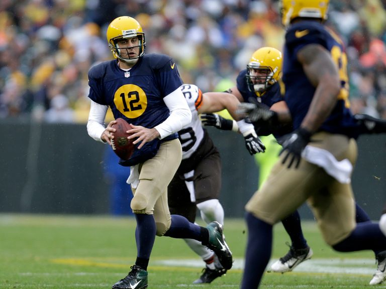 Aaron Rodgers: 260 yards and three touchdowns