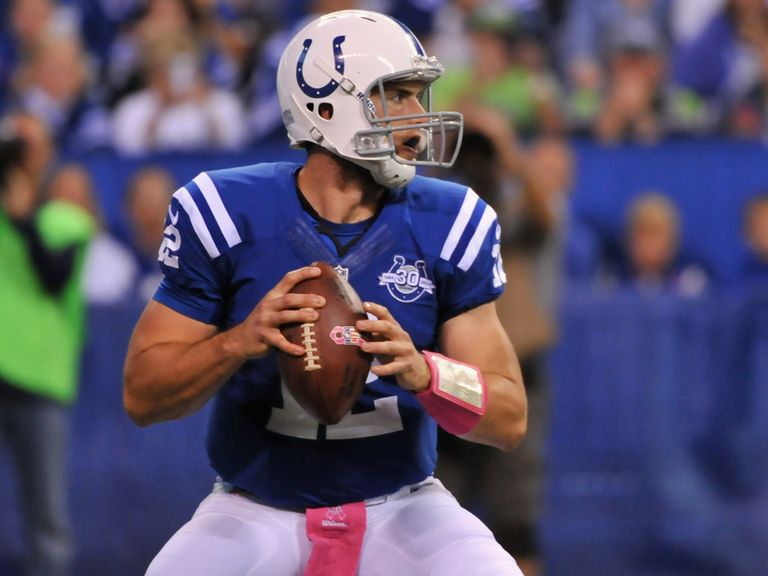 Andrew Luck and the Colts look too good for the Titans