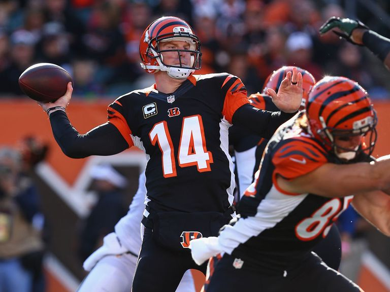 Andy Dalton: Picked the Jets' defense apart