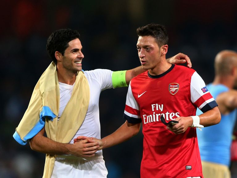 Arteta: Ozil signing has been huge boost for Arsenal