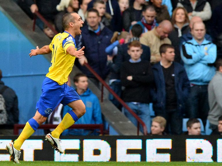 Leon Osman: Back amongst the goal