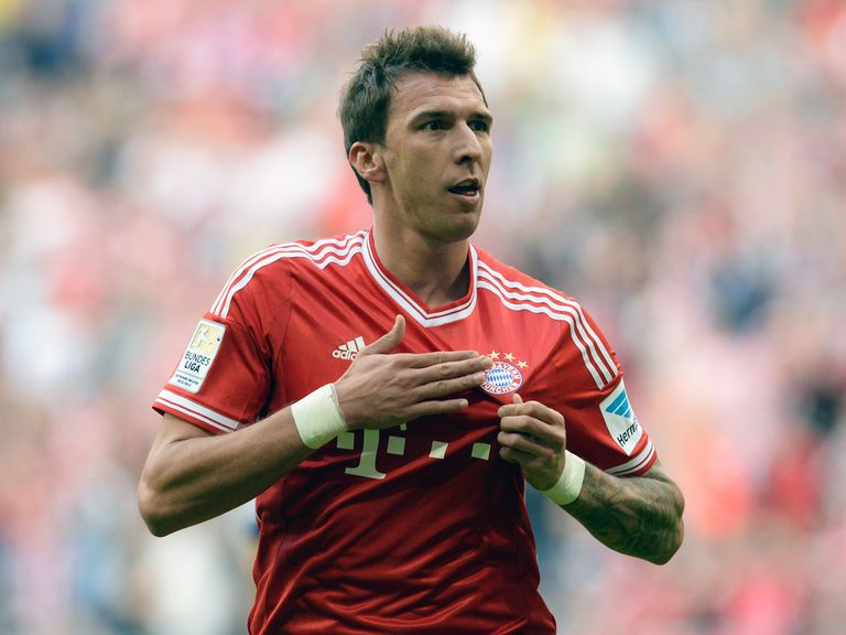 Mario Mandzukic: Netted three in easy victory