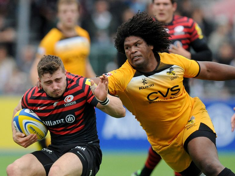 Ashley Johnson (Right): Will start for Wasps on Sunday