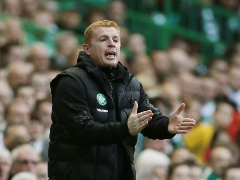 Neil Lennon: Takes his Celtic side to Partick on Sunday