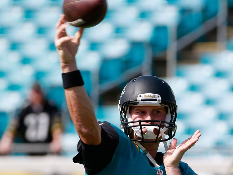 Chad Henne: The Jags quarterback was sacked six times