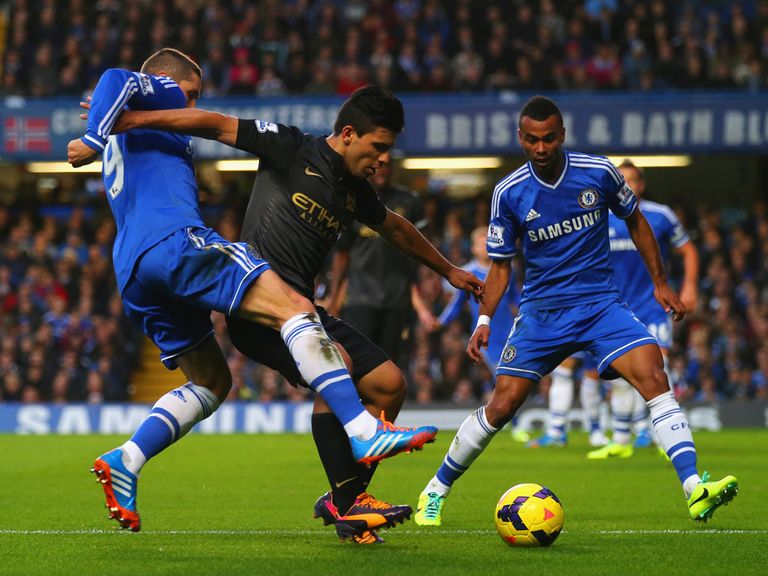 Action from Stamford Bridge