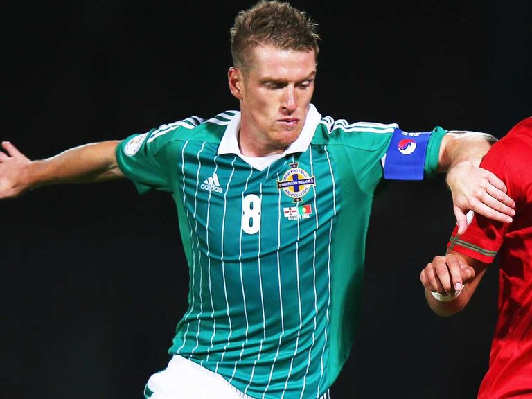 Steven Davis: On the mark for Northern Ireland