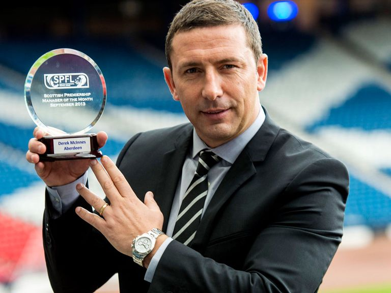 Derek McInnes: Is enjoying the bond with his players