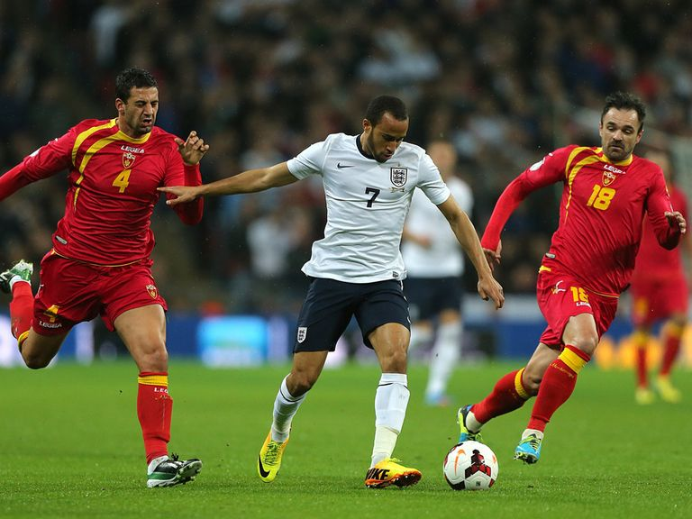 Andros Townsend: Impressed on his England debut