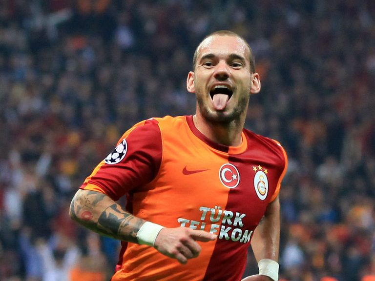Wesley Sneijder: Paying litte attention to the latest round of transfer rumours