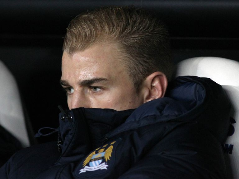 Joe Hart: Could miss out on Saturday