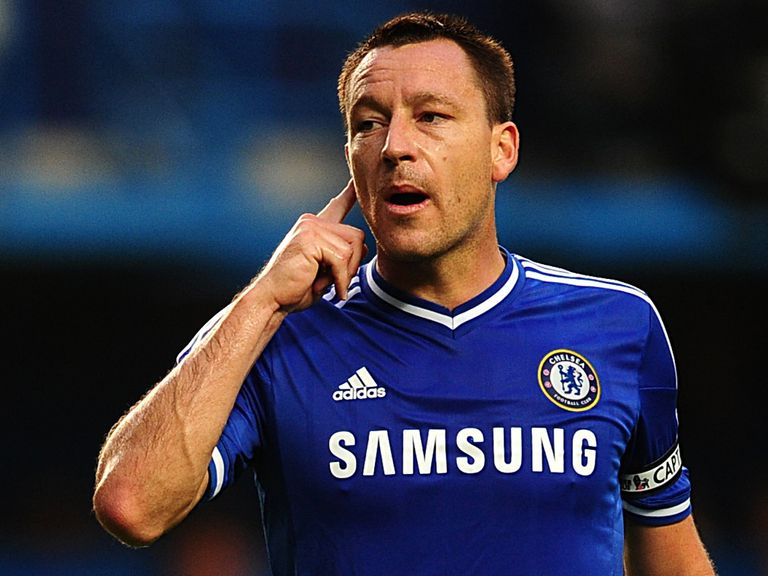 John Terry: Pleased with Chelsea's progress