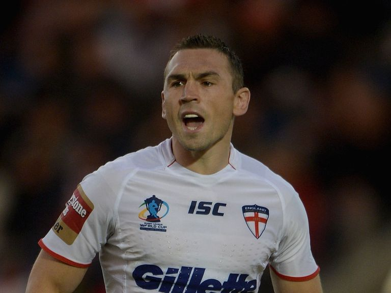 Kevin Sinfield: Keeping his cool