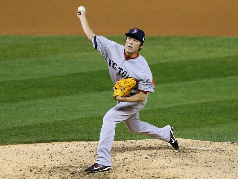 Koji Uehara: Helped the Boston Red Sox to victory