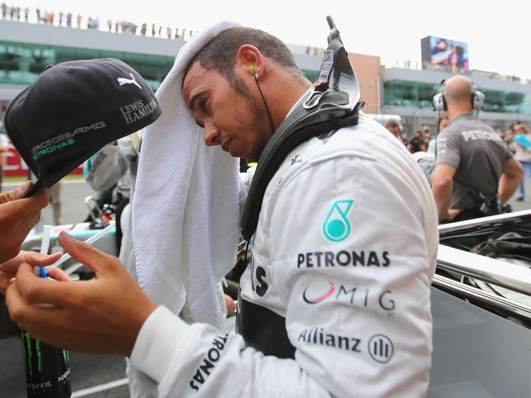 Hamilton: Title hopes all but over for another year
