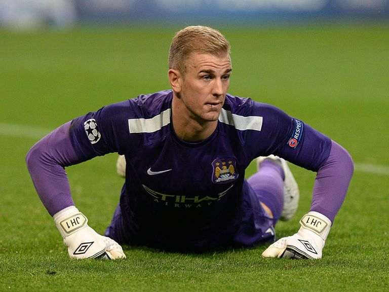 Joe Hart: Expected to make way for Costel Pantilimon