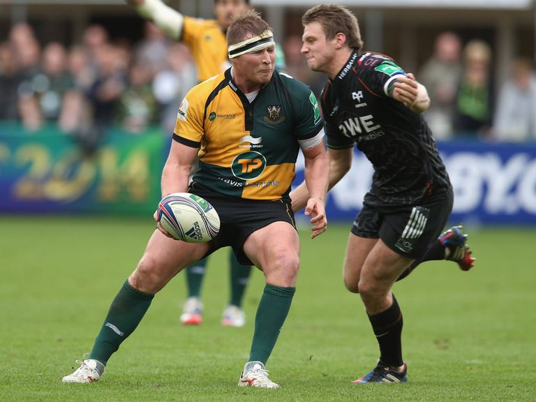 Northampton defeated Ospreys on Sunday afternoon.