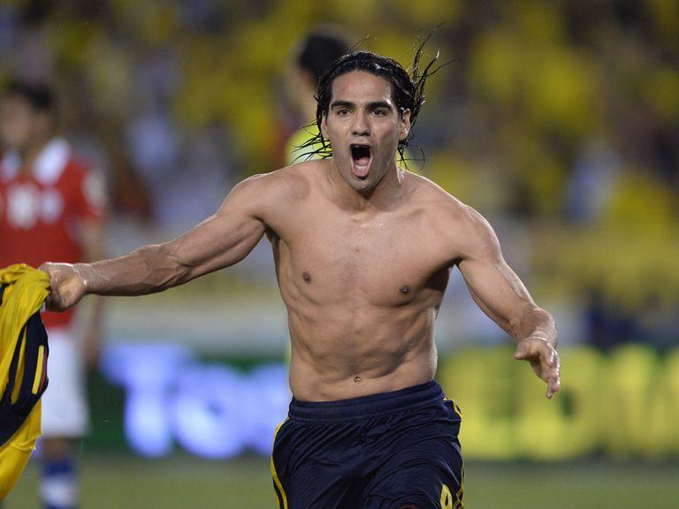 Radamel Falcao: Big miss for Colombia