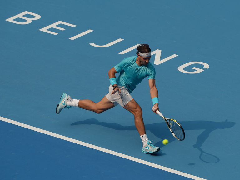 Rafael Nadal: Came from behind to beat Fabio Fognini