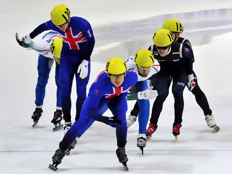 Richard Shoebridge in action during the relay final in Seoul