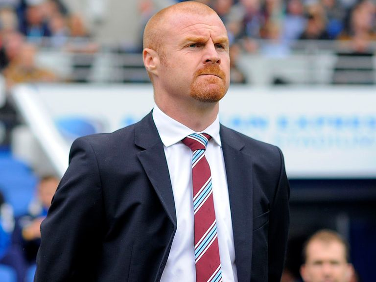 Sean Dyche's Burnley are top of the Championship.