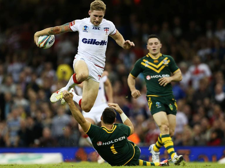 Sam Tomkins: Needs huge game at Wembley