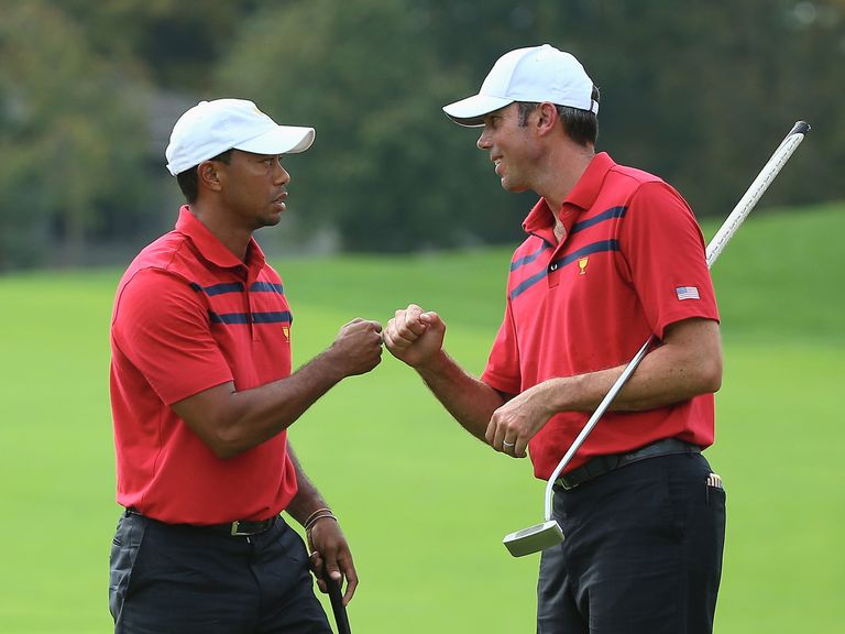 Both Tiger Woods and Matt Kuchar make the staking plan