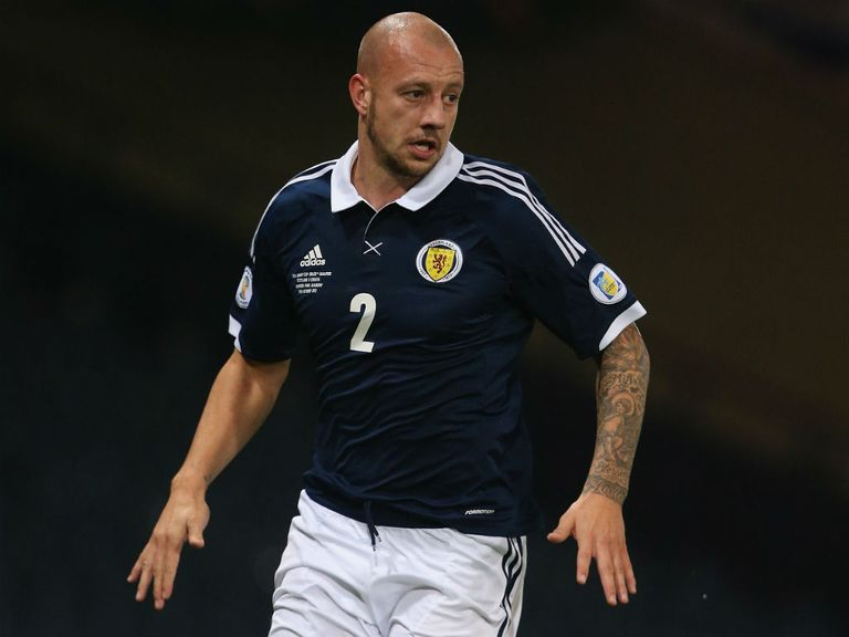 Alan Hutton: Frozen out of the first team picture at Aston Villa
