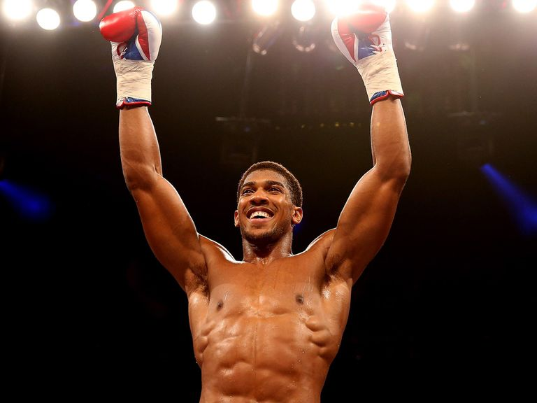 Anthony Joshua: Has a shoulder problem