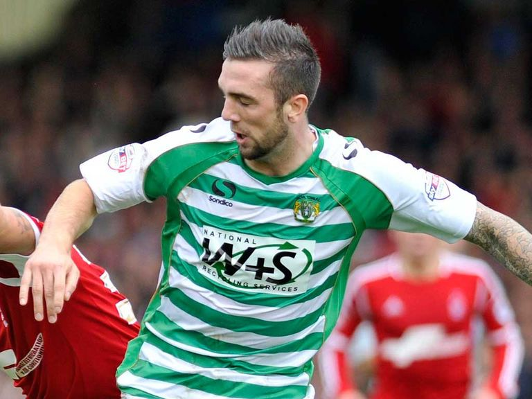 Shane Duffy: Everton defender back at Yeovil