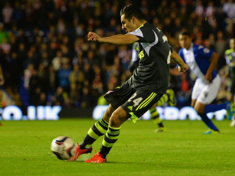 Oussama Assaidi: Put Stoke in front against Birmingham
