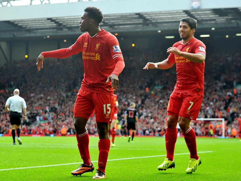 Daniel Sturridge and Luis Suarez are impressing.